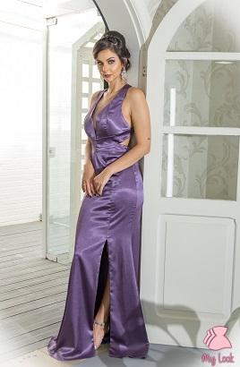 Vestido roxo L146