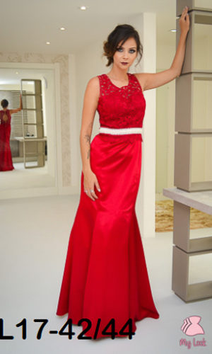 Vestido vermelho L17