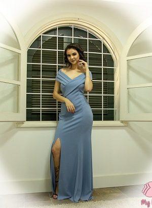 Vestido azul serenity L175