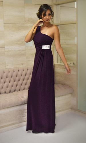 Vestido vinho L26