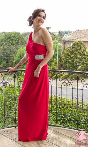 Vestido vermelho L32