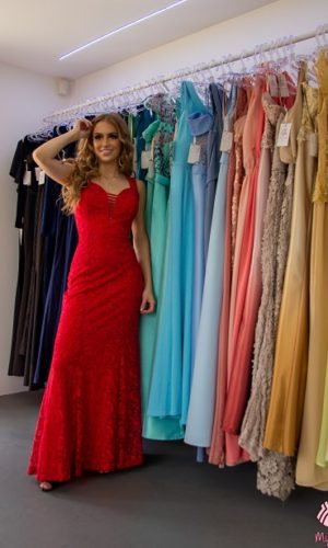 Vestido vermelho L50