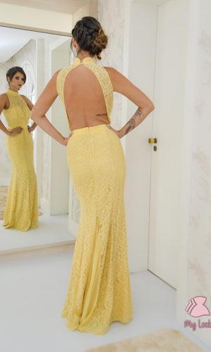 Vestido amarelo L63