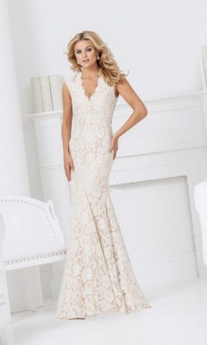Vestido branco off-white L68