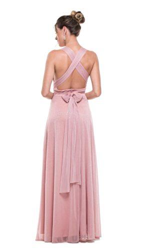 Vestido rosa L1009