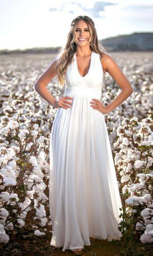 Vestido branco L1978