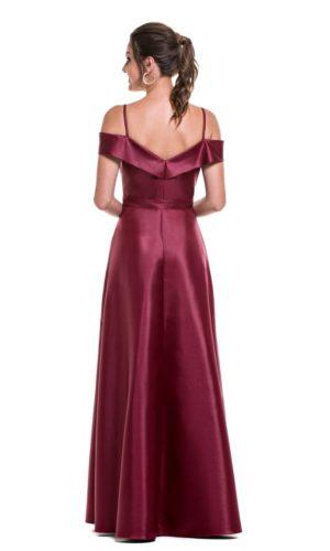Vestido Marsala L991