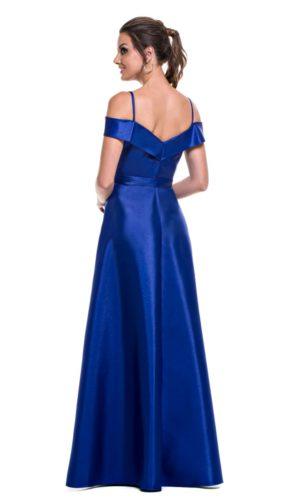 Vestido Azul Royal L991
