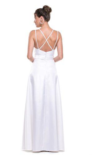 Vestido branco L1005