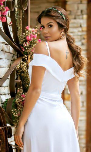 Vestido Branco L1928
