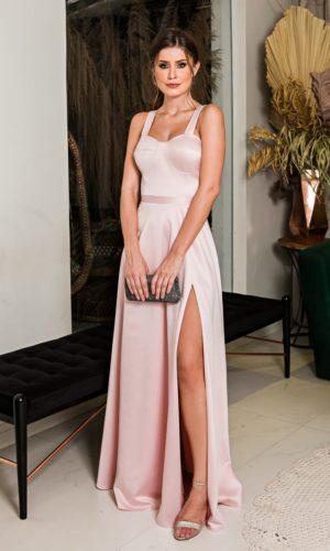 Vestido Rosa L1002
