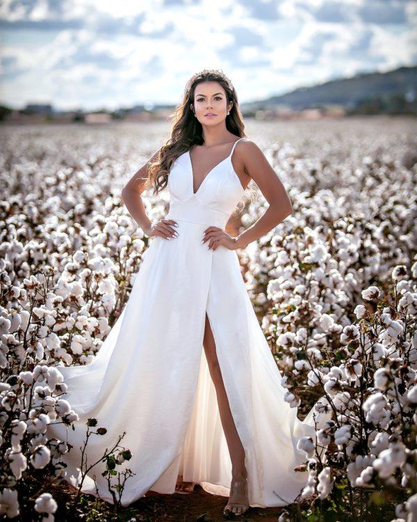 Vestido branco L947