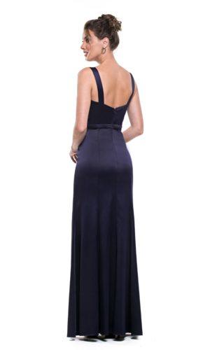Vestido Azul Marinho L1010