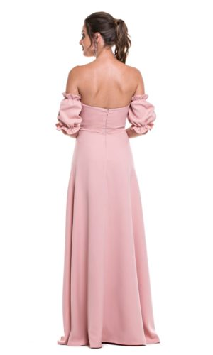 Vestido Rosa Rose L996
