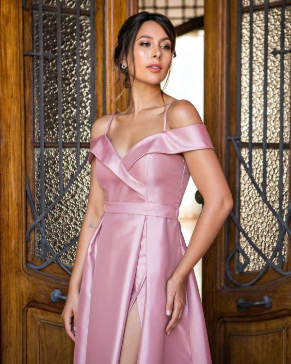 Vestido rosa L991