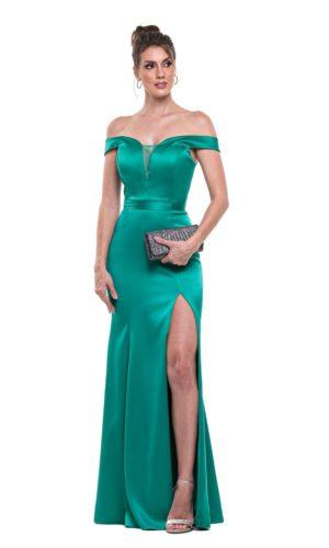 Vestido verde L987