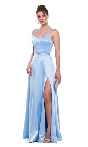 Vestido Azul Serenity L1002