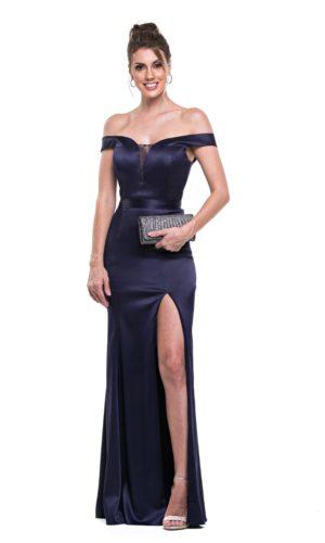 Vestido Azul Marinho L987