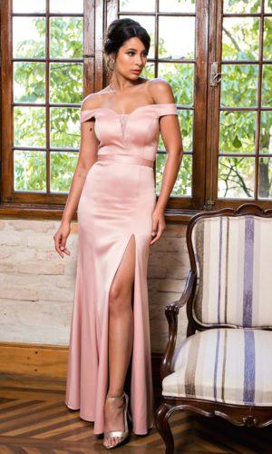 Vestido Rosa L987
