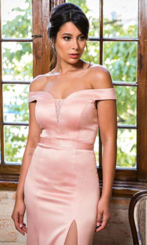 Vestido Rosa Rose L987