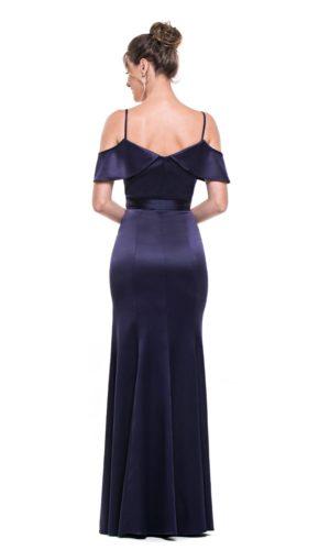 Vestido Azul Marinho L1003