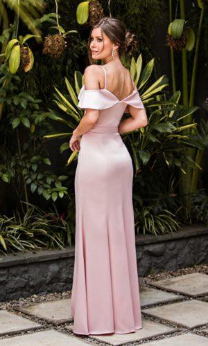 Vestido Rosa L1003