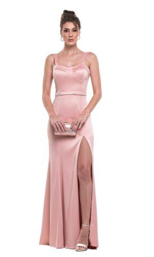 Vestido rosa L1010