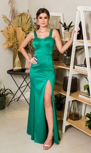 Vestido verde L1010