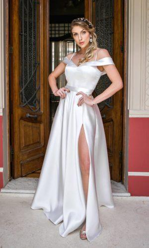 Vestido branco L969