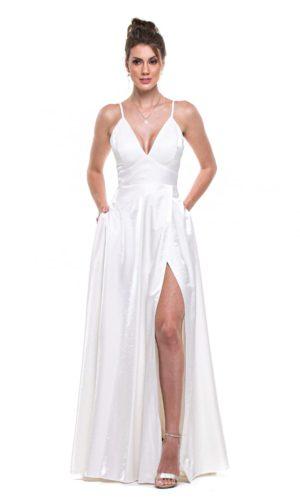 Vestido Branco L1014