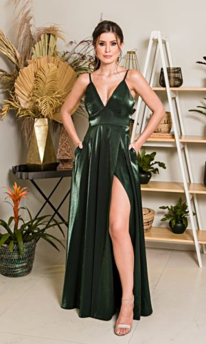 Vestido Verde Esmeralda L1014