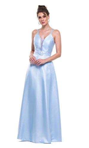 Vestido azul serenity L1005
