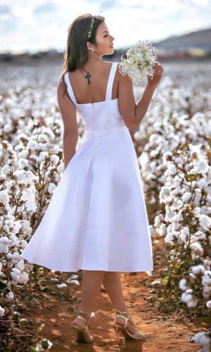 Vestido Branco M1019