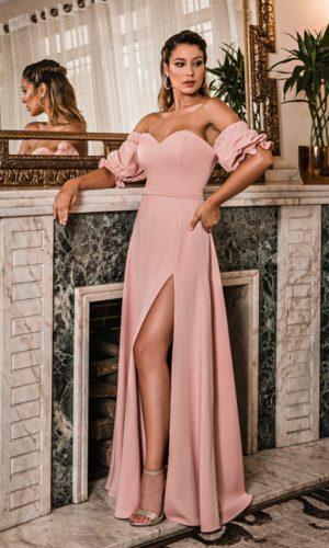 Vestido rosa L996