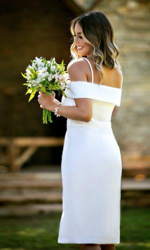 Vestido Branco M1020