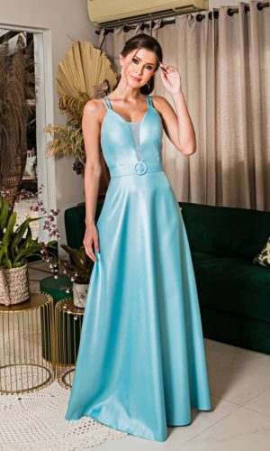 Vestido longo tiffany L1005