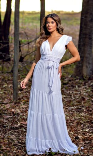 Vestido Branco L1025