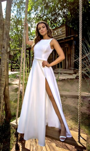 Vestido Branco L1030
