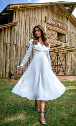 Vestido Branco M1031