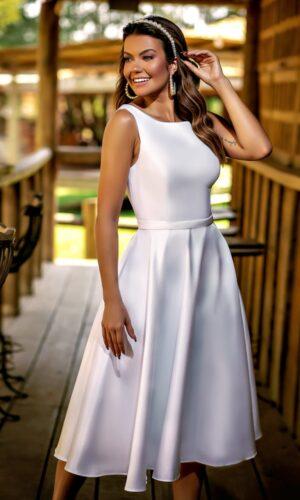 Vestido Branco M1027