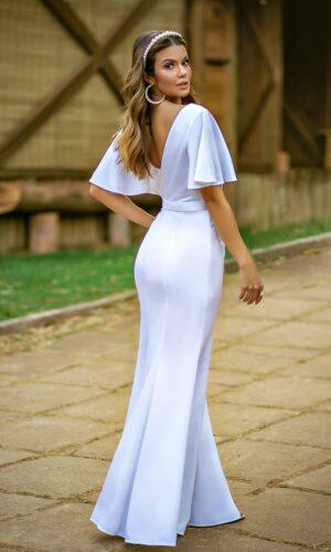Vestido Branco L1024