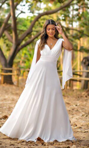 Vestido Branco L1032